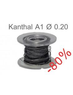 Fil Résistif Kanthal A1 Ø 0.20