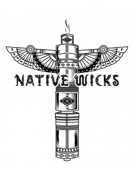 Native Wick Cotton Platinum