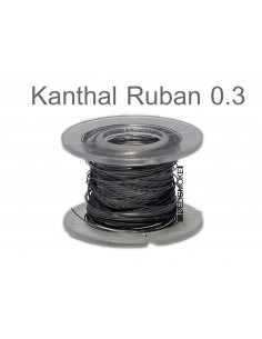 Kanthal A1 Ribbon (ruban) en  0.3mm