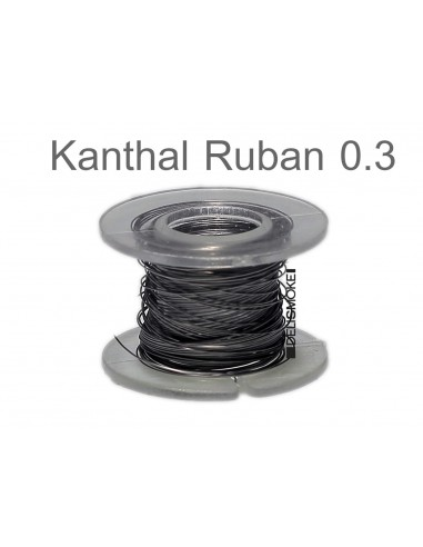 Kanthal A1 Ribbon (ruban) en  0.3mm