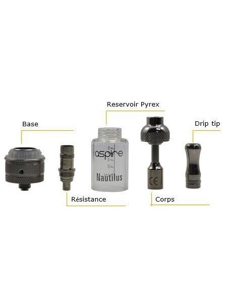 Tube de remplacement Pyrex pour Aspire Nautilus