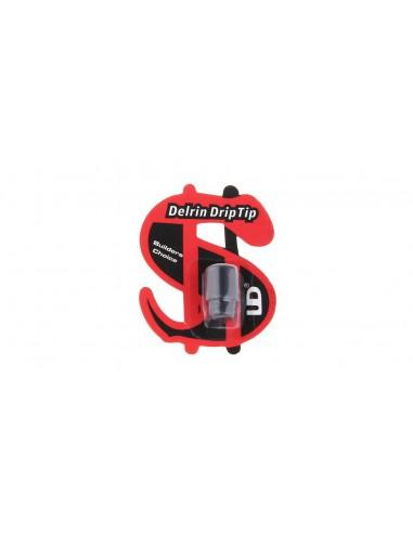 Drip Tip Delrin 510 UD Noir
